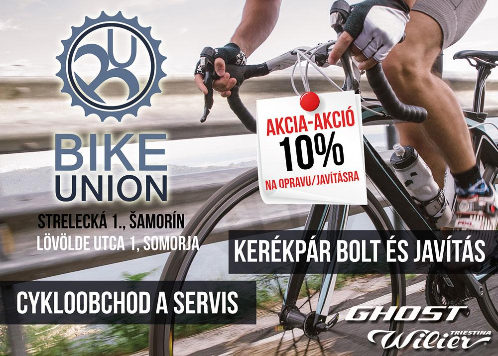 Bike Union – Inzerát do novín